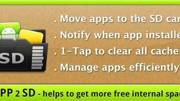 App 2 SD - spravujte své aplikace jednoduše a přehledně