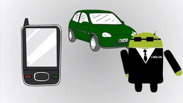 Carlos Droid – chraňte své auto pomocí telefonu