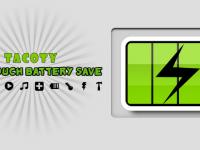 One Touch Battery Saver – správa baterie snadno a rychle