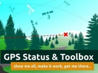 GPS Status & Toolbox – buzola po smartphonsku