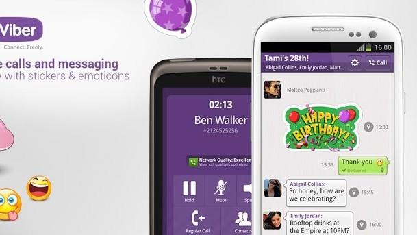Aplikace Viber pro Android - volání a SMS zdarma, stačí jen internet
