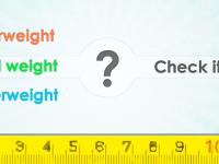 Ideální hmotnost (BMI) – změřte si svůj BMI rychle a jednoduše