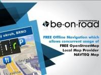GPS navigace: BE-ON-ROAD – offline navigace zdarma z řadou podkladů