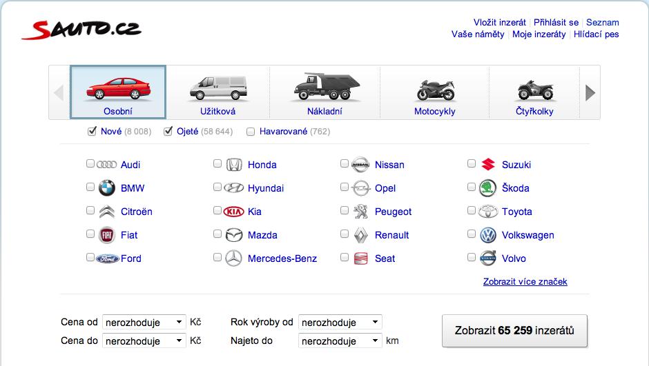 Sauto.cz – nákupy aut do kapsy
