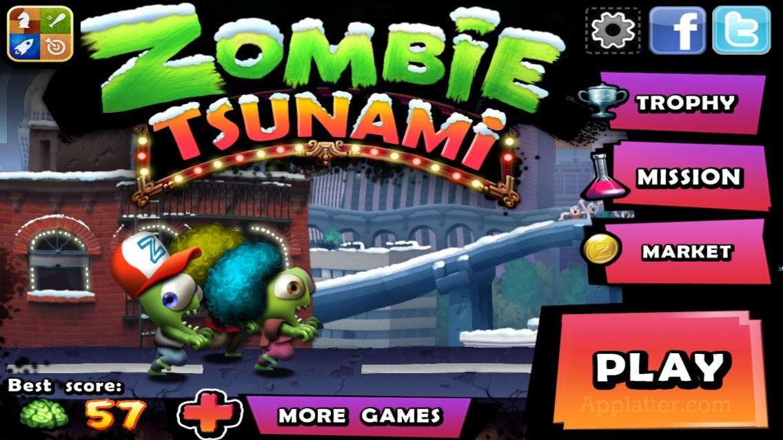Zombie Tsunami - nemrtví trochu jinak