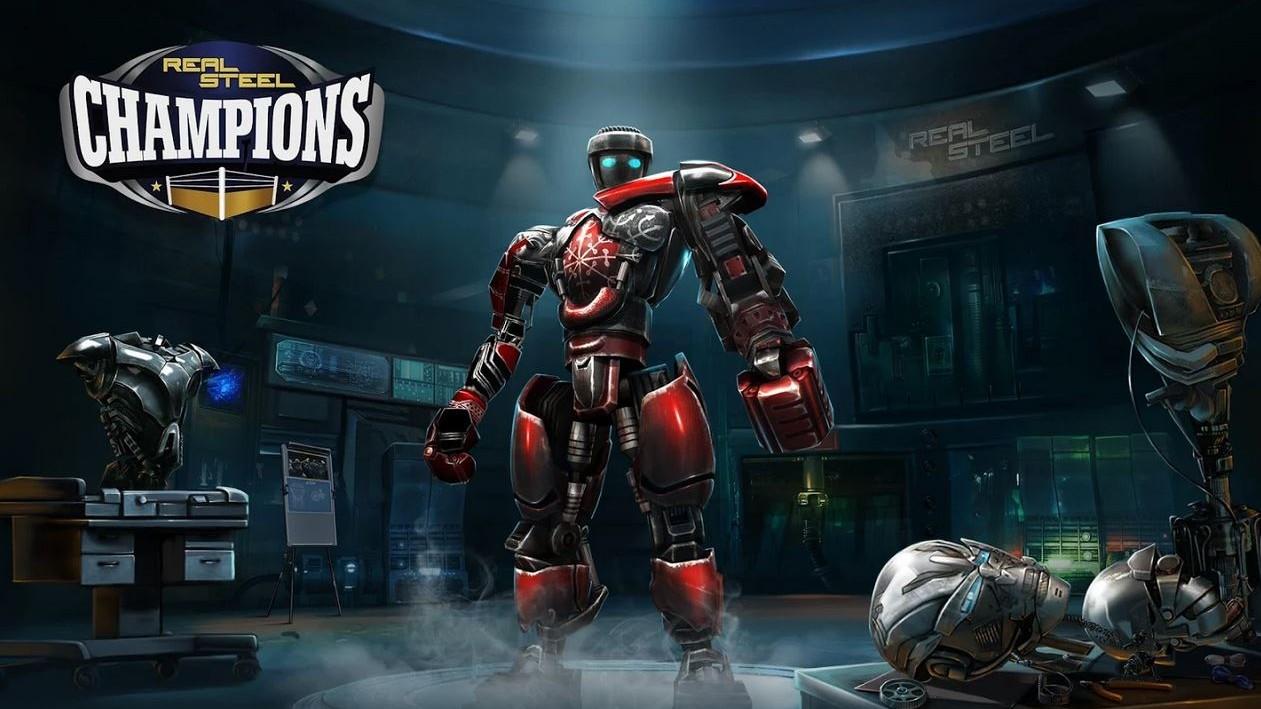 Real Steel Champions: Souboje robotů v aréně