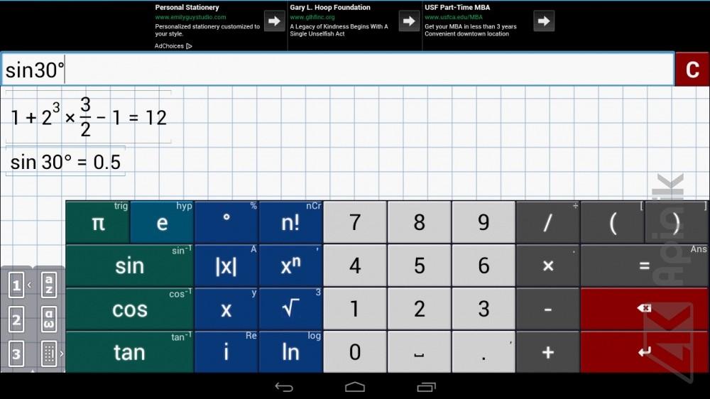 Grafická kalkulačka od Mathlab