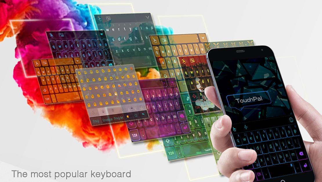TouchPal - klávesnicová alternativa