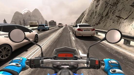 Traffic Rider - oddechovka s jednou stopou