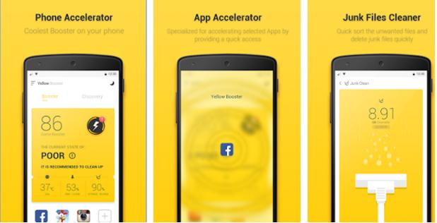 Yellow Booster - zrychlete svá zařízení