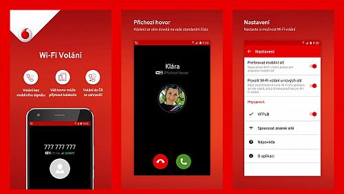 Vodafone Wi-Fi volání