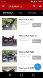 Výběr motorky