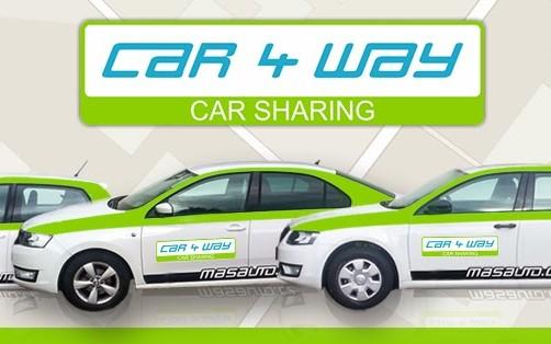 CAR4WAY - nejsnazší sharování automobilů