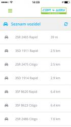 Seznam vozidel