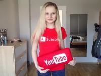 Fallenka – oblíbená youtuberka vždy a všude