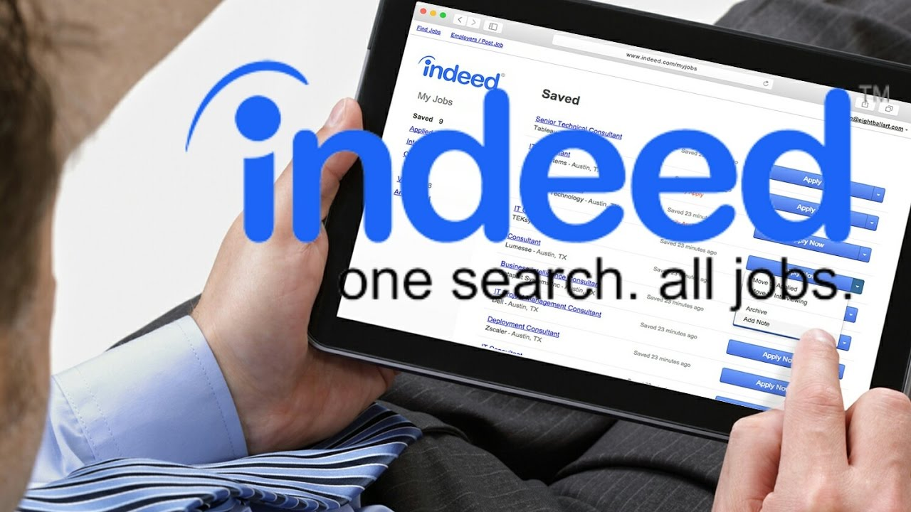 Mezinárodní odborník na vyhledávání práce Indeed má i aplikaci