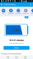 Spořič baterie