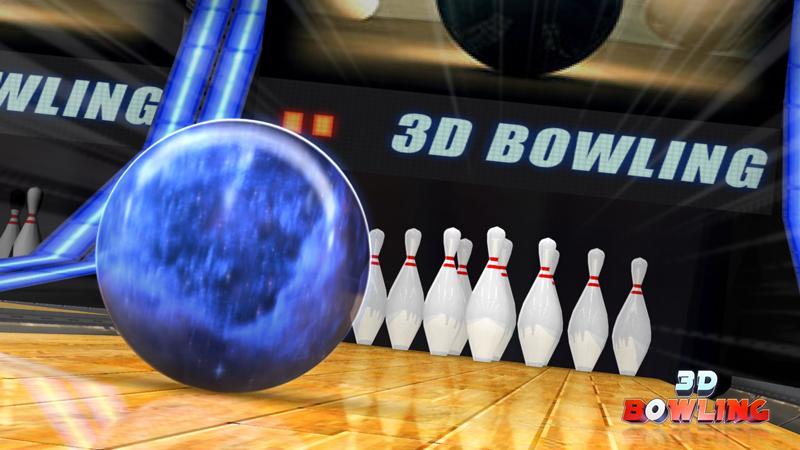Sníte o tom, že hodíte tři sta na bowlingu? Třeba alespoň ve 3D Bowling se to podaří
