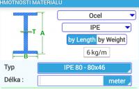 Výpočet hmotnosti materiálu pro stavaře i domácí kutily