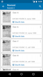 Procházení archivů novin