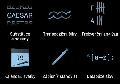 Aplikaci Šifrovací pomůcky Absolutno ocení hlavně příznivci geocachingu, skauti a účastnici soutěží s šiframi