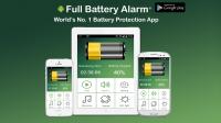 Alarm plné baterie spolehlivě upozorňuje na zbytečné připojení již nabitého telefonu k zásuvce. Umí ale i další věci