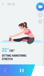Samotné protahovací cvičení