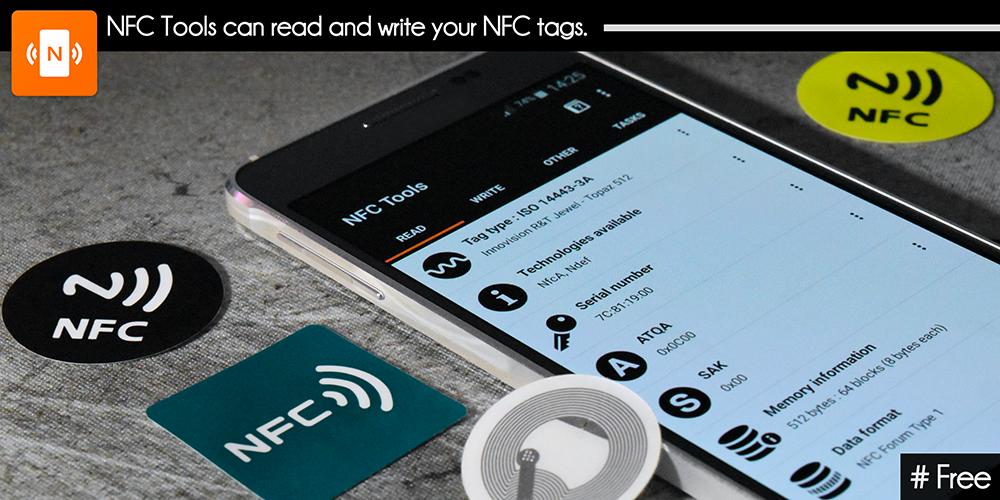 Znáte NFC? S aplikací NFC Tools máte jedinečnou možnost stát na počátku možného nového technologického fenoménu