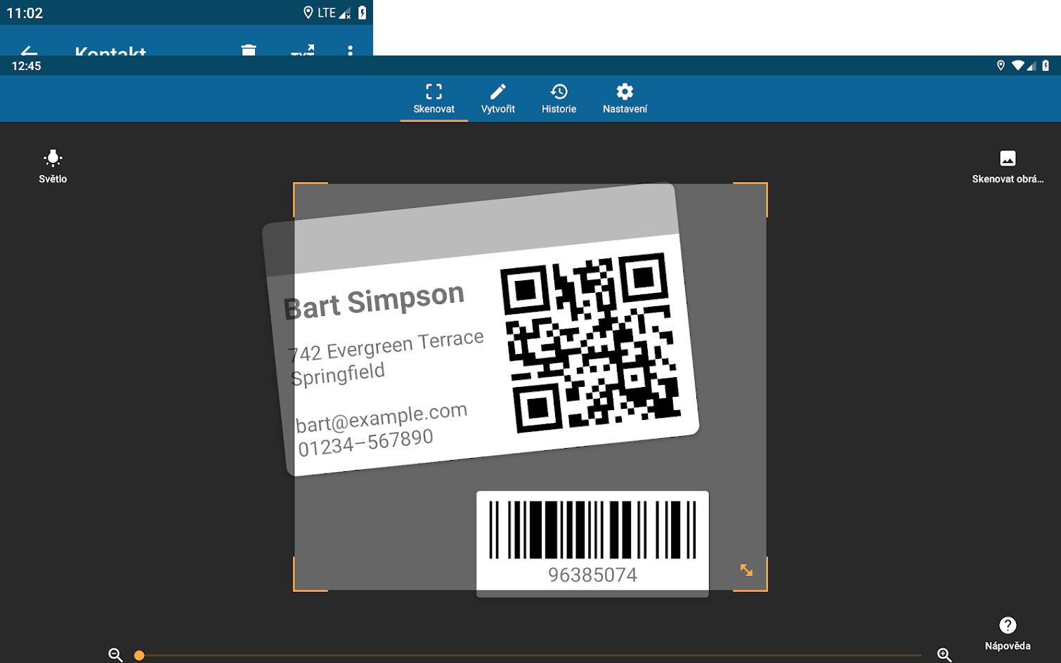 QRbot umožňuje pohodlné sdílení všeho možného pomocí QR kódu. Zbytečně ale též v jedné části zdržuje