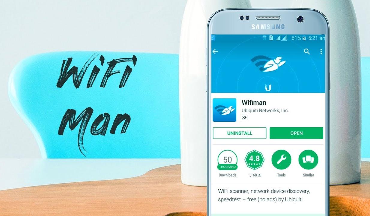 WiFiman zobrazí jednoduchý a přehledný přehled o vaší wi-fi síti