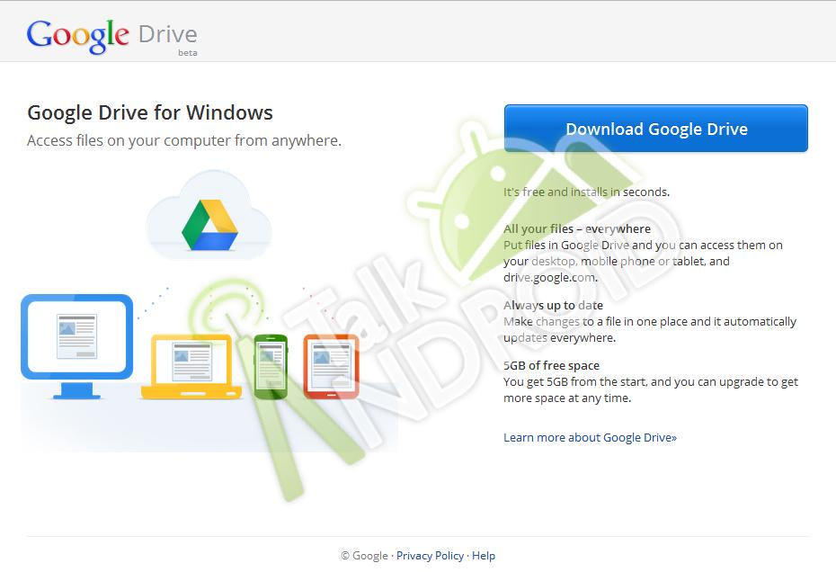 První konkrétní informace o Google Drive