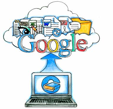 Google možná spustí úložiště dat začátkem dubna