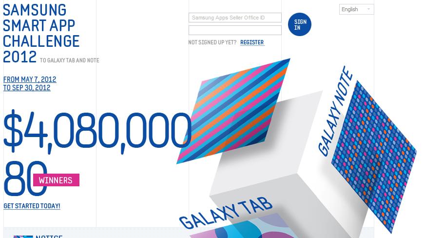 Samsung připravil $4 mil. pro vývojáře