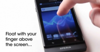 Sony vysvětluje, jak funguje Floating Touch na Xperia Sola