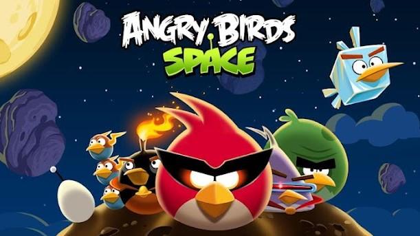 Angry Birds Space dostupné v obchodě Play