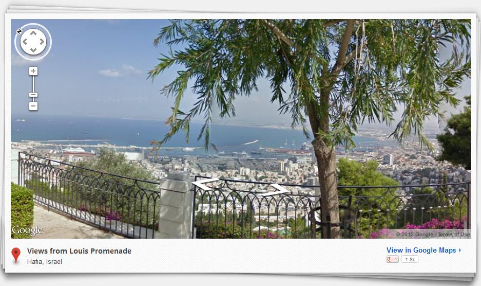 Google Maps Street View nyní i v Izraeli