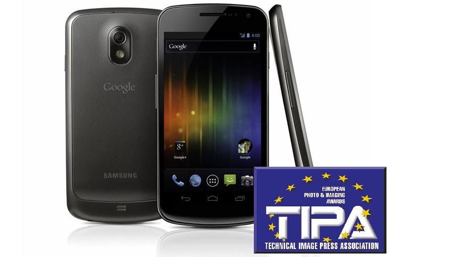 Samsung Galaxy Nexus s oceněním TIPA