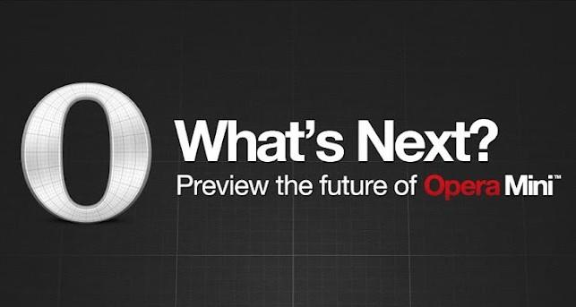 Opera Mini Next: na inovace s citem
