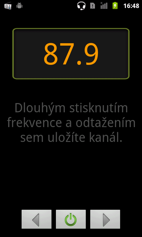 ZTE Skate radio