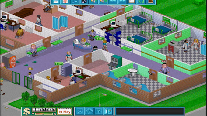Theme Hospital se objevil na Androidu