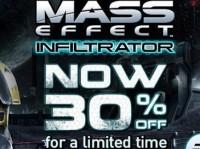 Celý víkend sleva 30 % na Mass Effect Infiltrator, BWM již má již přes 90 titulů