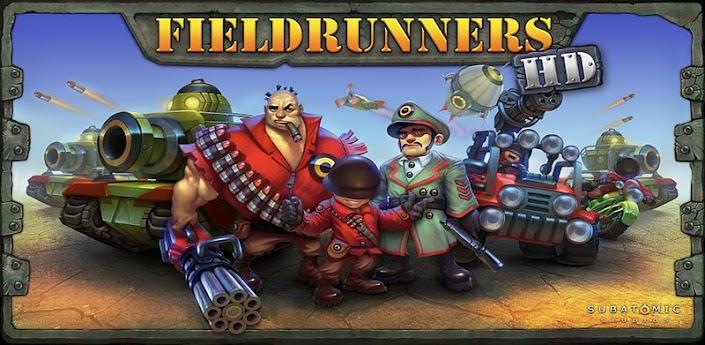Placené hry: Recenze Fieldrunners HD