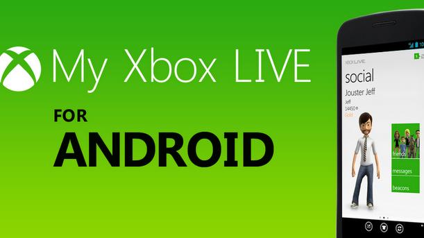 Na Android dorazila aplikace My Xbox Livem, mnoho funkcí chybí
