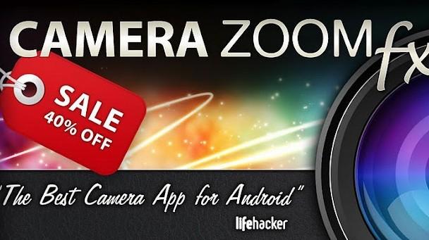Camera Zoom FX: Opravdu nejlepší foto aplikace pro Android?