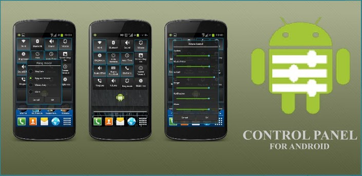 Android Control panel