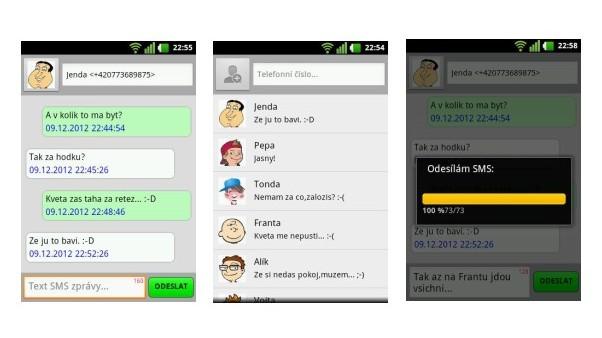 CoolSMScz – bezplatné posílání SMS zdarma