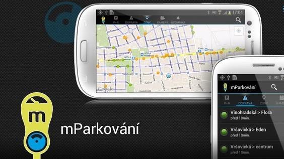 mParkování – snadné a rychlé parkování vPraze