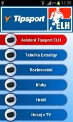 Aplikace Tipsport Extraliga