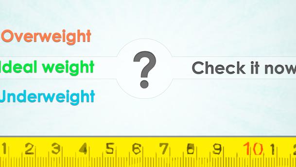 Ideální hmotnost (BMI) - změřte si svůj BMI rychle a jednoduše
