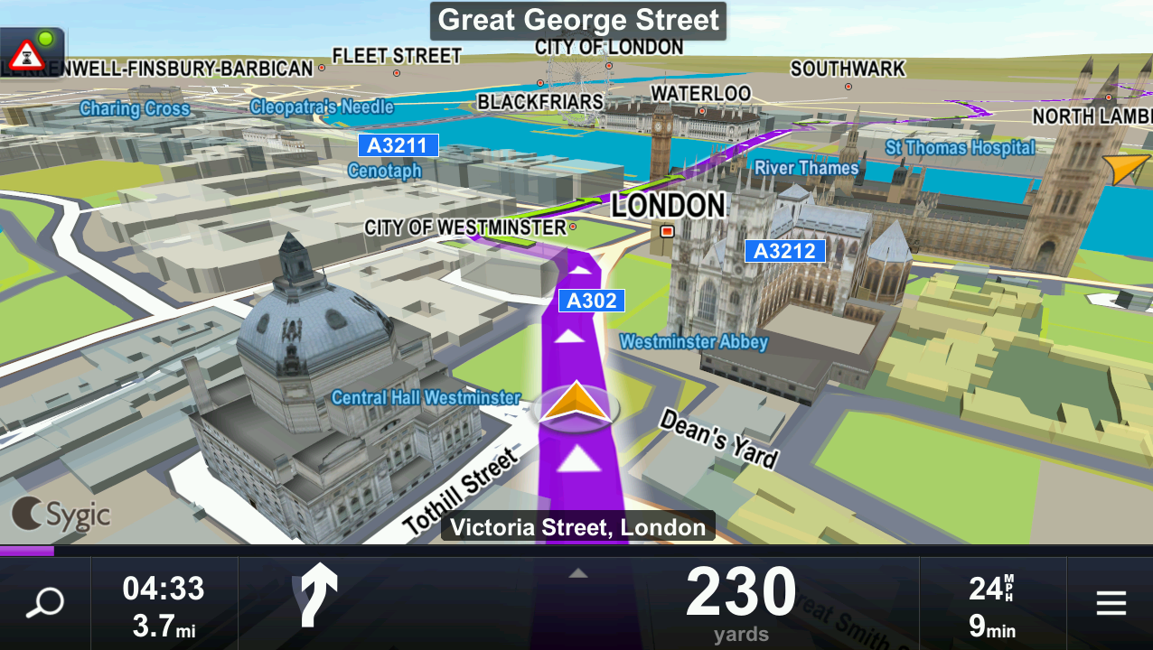 MapFactor: GPS Navigation - další GPS zdarma